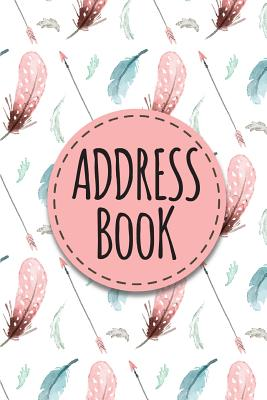 Address Book: Address Book For Women - Alphabetical With Tabs (6