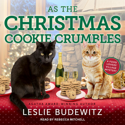 As the Christmas Cookie Crumbles (Food Lovers' Village Mystery #5) Cover Image