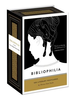 Bibliophilia: 100 Literary Postcards Cover Image