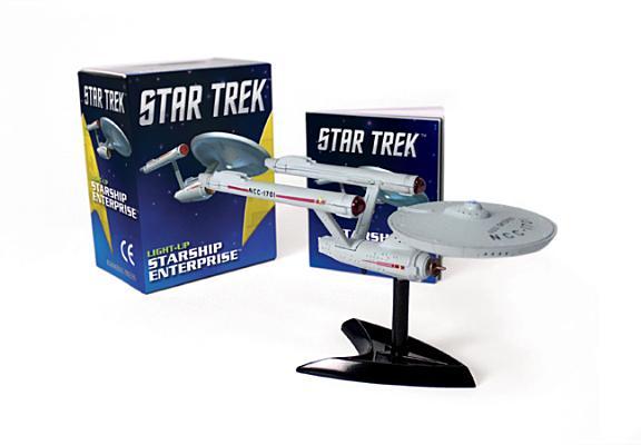 Star Trek: Light-Up Starship Enterprise (RP Minis) Cover Image