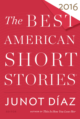 Best American Short Stories 2016 cover image