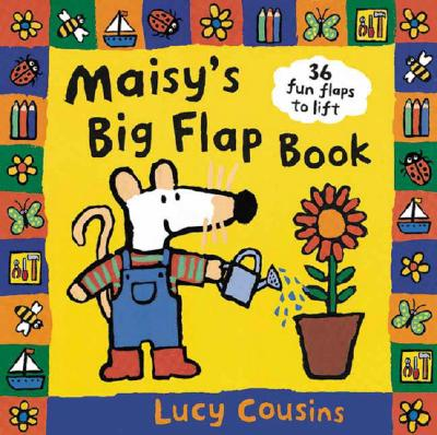 Maisy's Big Flap Book Cover