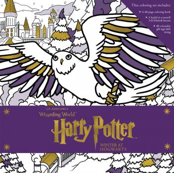 Harry Potter: Winter at Hogwarts: A Magical Coloring Set Cover Image