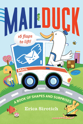 Mail Duck: A Book of Shapes and Surprises Cover Image