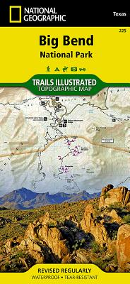 Big Bend National Park (National Geographic Trails Illustrated Map #225) Cover Image