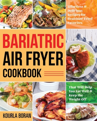 Bariatric Air Fryer Cookbook Cover Image
