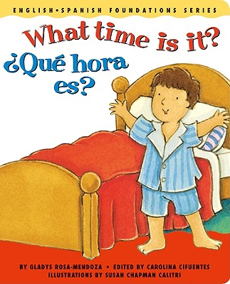 What Time Is It? / Qu' Hora Es? Cover Image