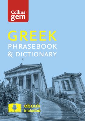Collins Gem Greek Phrasebook & Dictionary Cover Image