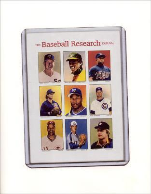 The Baseball Research Journal (BRJ), Volume 31 Cover Image