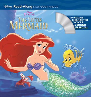 The Little Mermaid Read-Along Storybook and CD Cover Image