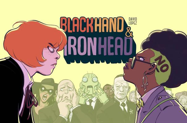 Cover for Blackhand & Ironhead Volume 1