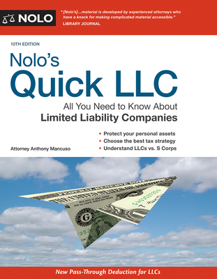 Nolo's Quick LLC: All You Need to Know about Limited Liability Companies Cover Image