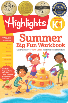 Summer Big Fun Workbook Bridging Grades K & 1 (Highlights Summer Learning) Cover Image