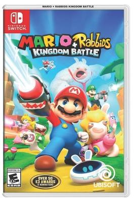Mario + Rabbids Kingdom Battle Cover Image