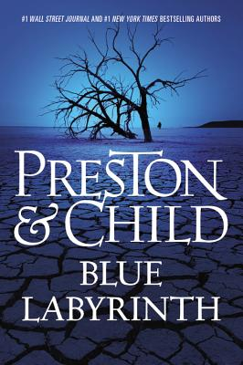 Cover for Blue Labyrinth (Agent Pendergast Series #14)