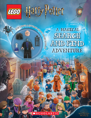 LEGO Harry Potter: A Magical Search and Find Adventure (Activity book with Snape Minifigure) Cover Image