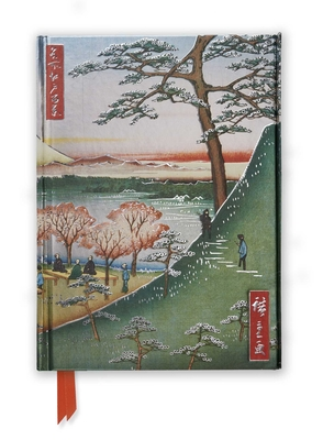 Hiroshige: Meguro (Foiled Journal) (Flame Tree Notebooks #45) Cover Image