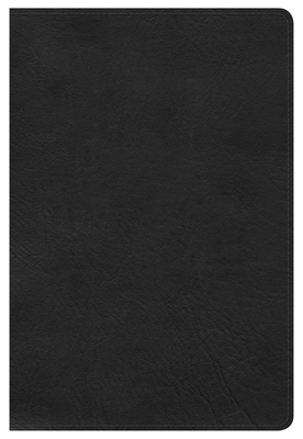 Cover for HCSB Large Print Personal Size Bible, Black LeatherTouch