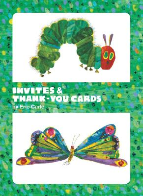 The World of Eric Carle(TM) Caterpillar & Butterfly Invite and Thank You Cards Cover Image