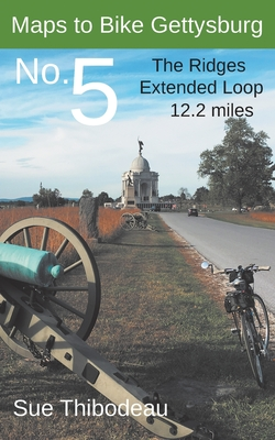 Maps to Bike Gettysburg No. 5: The Ridges Extended Loop Cover Image