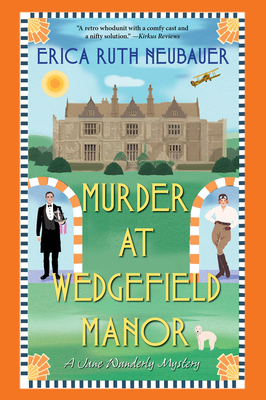 Cover for Murder at Wedgefield Manor (A Jane Wunderly Mystery #2)