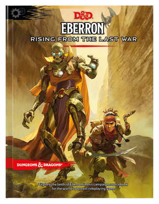 Eberron: Rising from the Last War (D&D Campaign Setting and Adventure Book) Cover Image