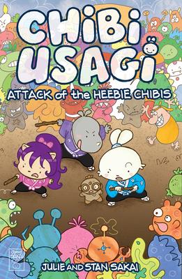 Chibi Usagi: Attack of the Heebie Chibis Cover Image