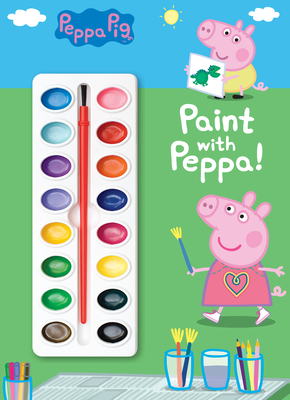Paint with Peppa! (Peppa Pig) Cover Image