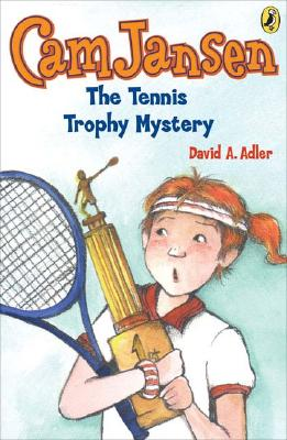 Cam Jansen and the Tennis Trophy Mystery #23 Cover Image
