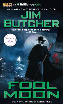 Cover for Fool Moon (Dresden Files #2)