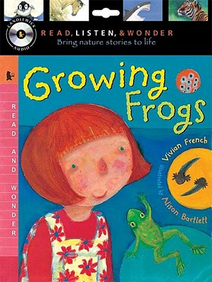 Growing Frogs [With CD (Audio)] Cover Image