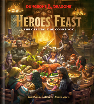 Heroes' Feast (Dungeons & Dragons): The Official D&D Cookbook Cover Image