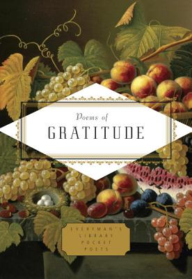 Poems of Gratitude (Everyman's Library Pocket Poets Series) Cover Image