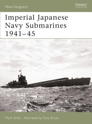 Imperial Japanese Navy Submarines 1941–45 (New Vanguard) Cover Image