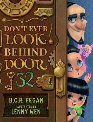 Cover for Don't Ever Look Behind Door 32