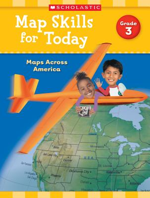 Map Skills for Today: Grade 3: Maps Across America Cover Image