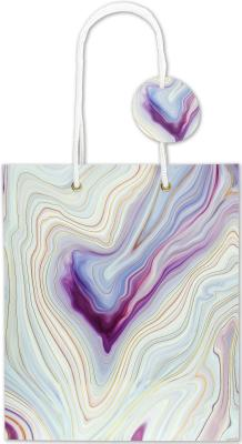 DLX Gift Bag Blue Agate Cover Image