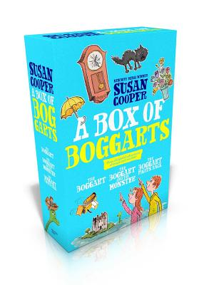 A Box of Boggarts: The Boggart; The Boggart and the Monster; The Boggart Fights Back Cover Image
