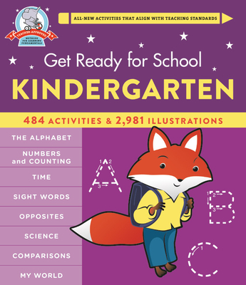 Get Ready for School: Kindergarten (Revised & Updated) Cover Image