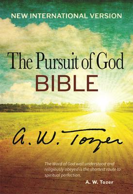 Pursuit of God Bible-NIV Cover Image