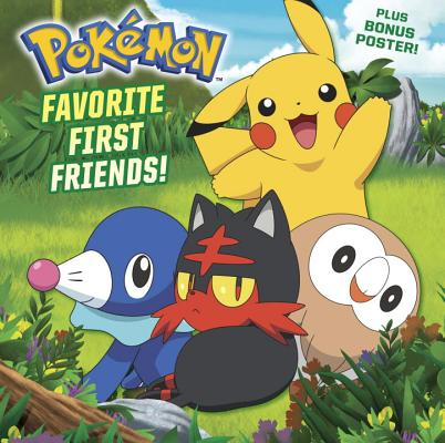 Favorite First Friends! (Pokémon) (Pictureback(R)) Cover Image