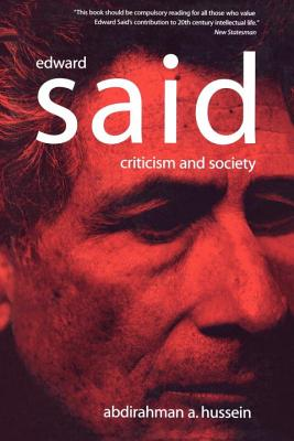 Edward Said: Criticism and Society Cover Image