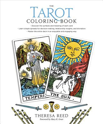 The Tarot Coloring Book Cover Image
