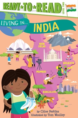 Cover for Living in . . . India