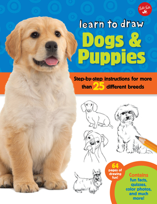 Learn to Draw Dogs & Puppies Cover