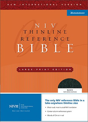 Thinline Reference Bible-NIV-Large Print Cover Image