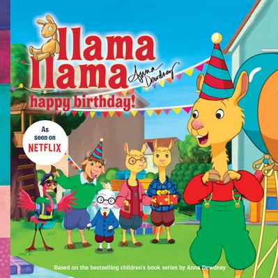 Llama Llama Happy Birthday! Cover Image