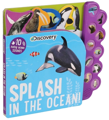 Discovery: Splash in the Ocean! (10-Button Sound Books) Cover Image