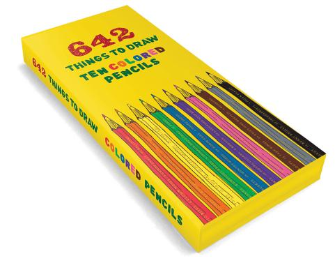 642 Things to Draw Colored Pencils Cover Image