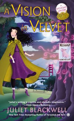 A Vision in Velvet (Witchcraft Mystery #6) Cover Image